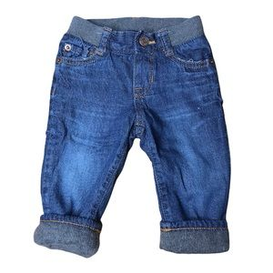 Baby Gap My First Straight Denim Lined Winter Jeans